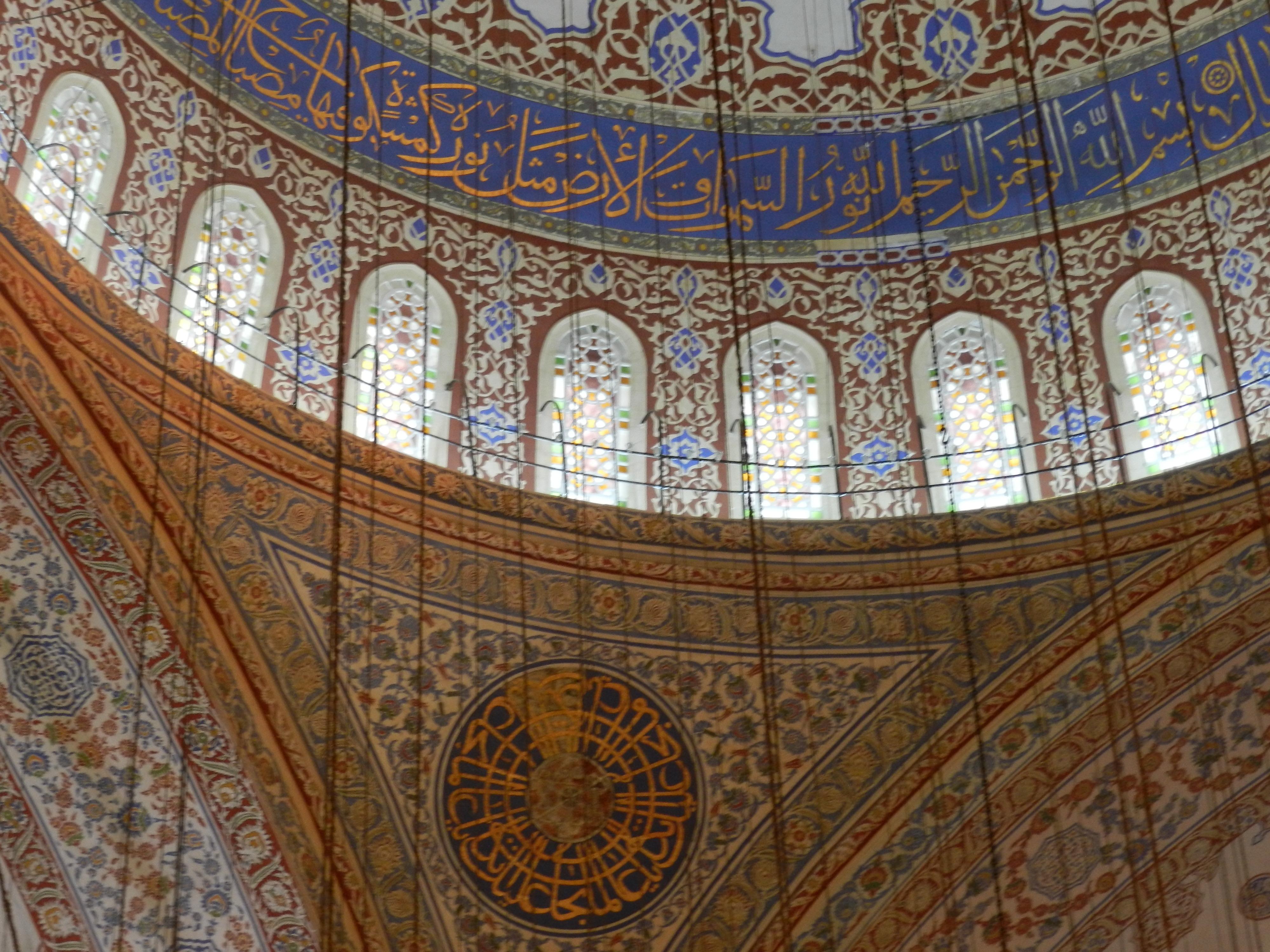 mesquita azul detalhes
