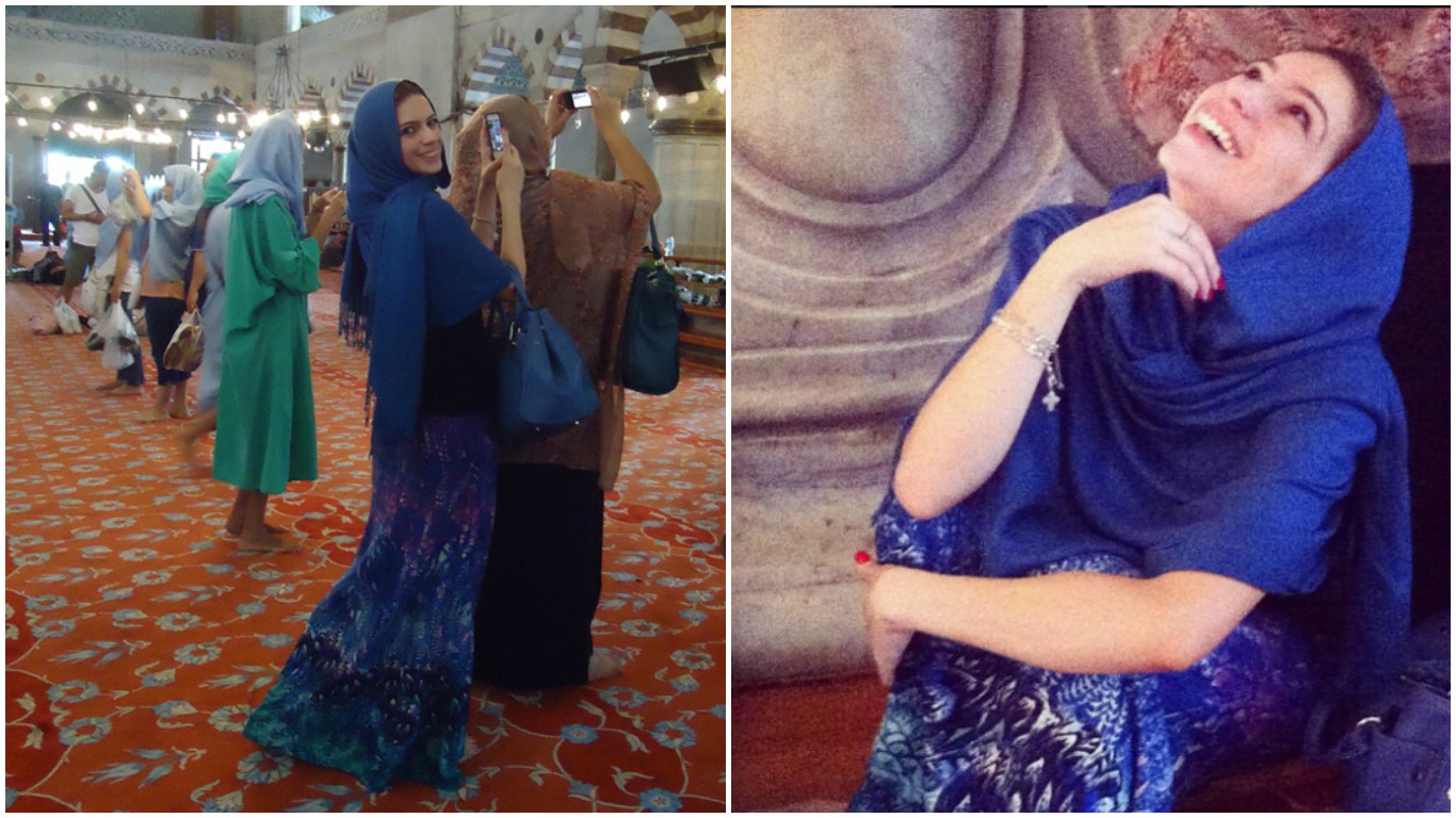 o que vestir na mesquita azul que roupa usar