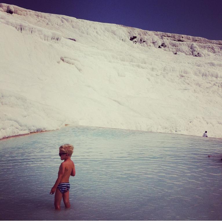 Pamukkale piscinas naturais turquia