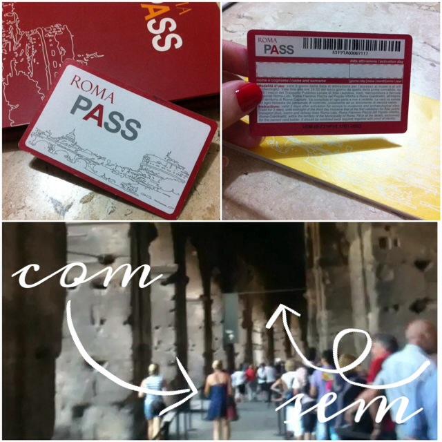 Fila do Coliseu Roma Pass