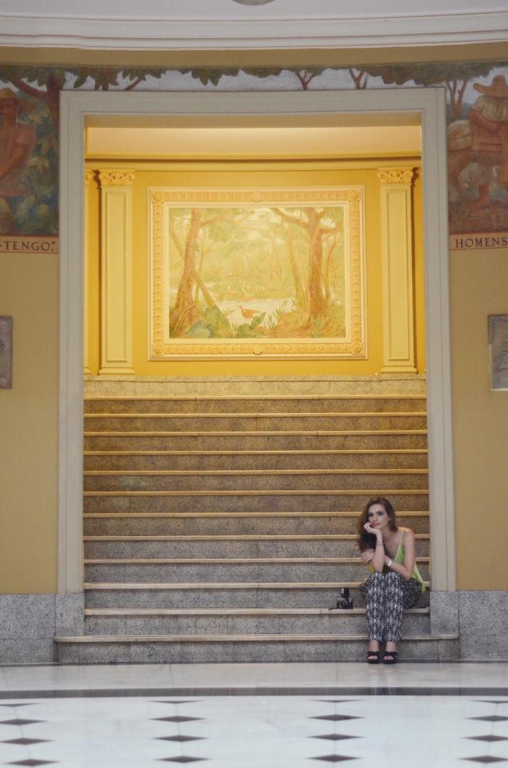 escada termas grande hotel Araxá