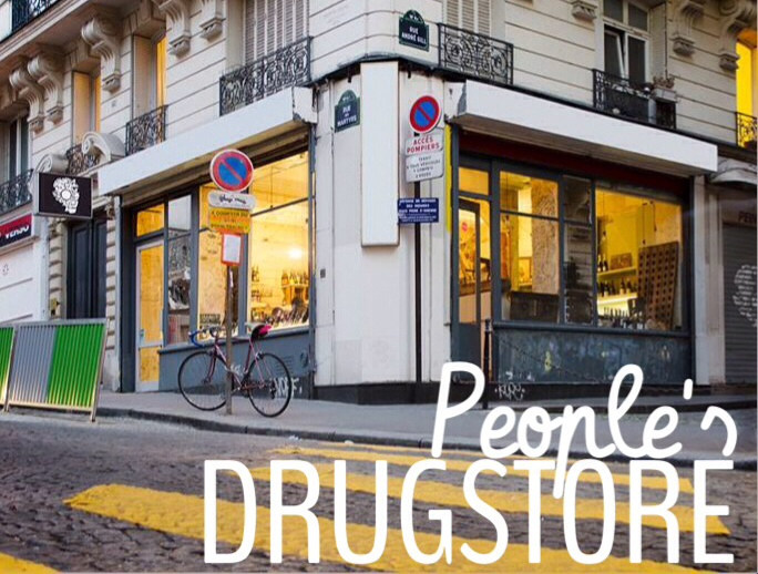 People´s Drugstore Paris beer in Paris