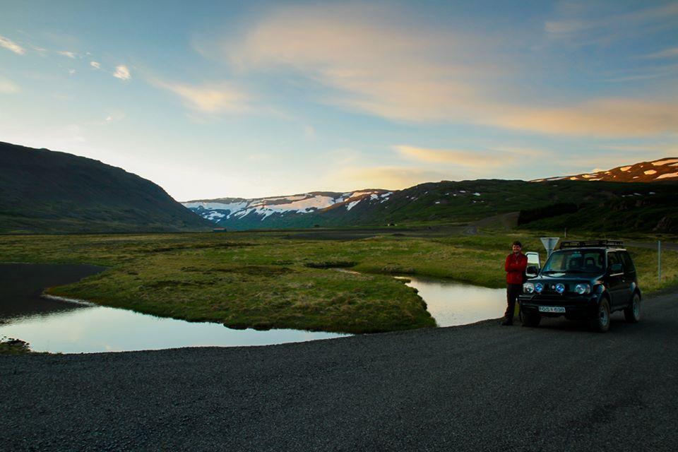 viagem de carro pela islândia