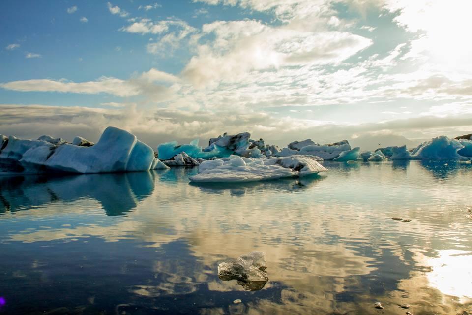 geleira na islândia