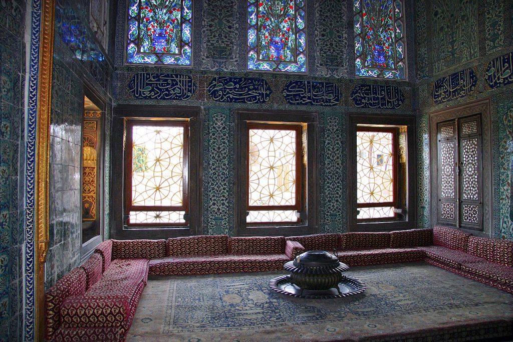 aposentos da mãe do sultão harem turco