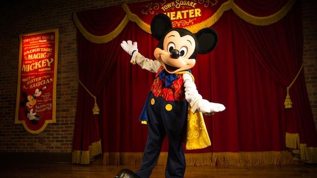 Mickey que fala português na Disney