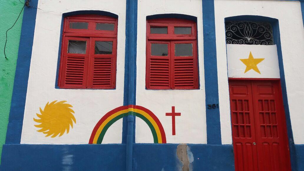 casas coloridas de olinda