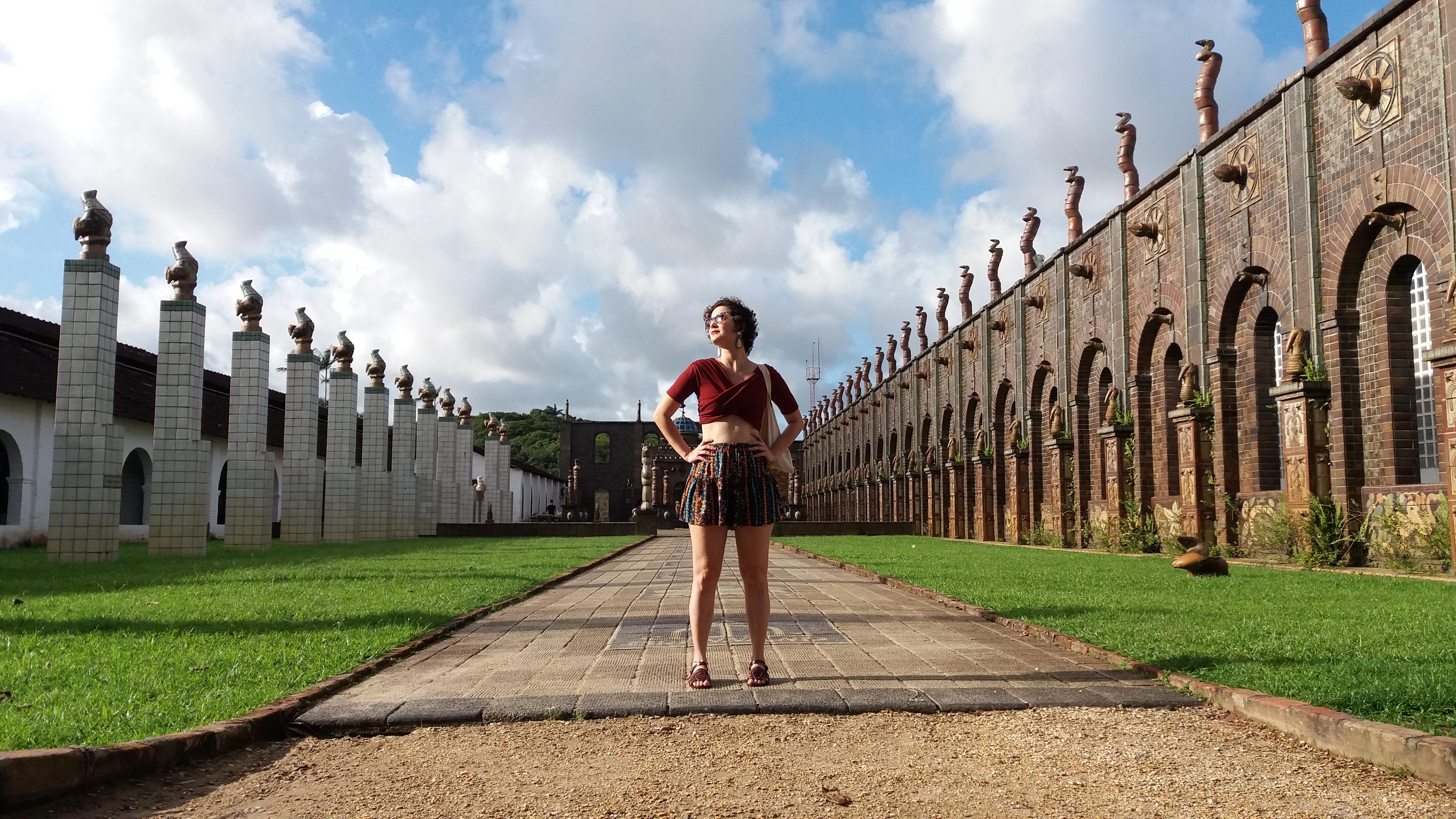 Oficina Francisco Brennand é um lugar incrível pra conhecer em Recife - passeios culturais