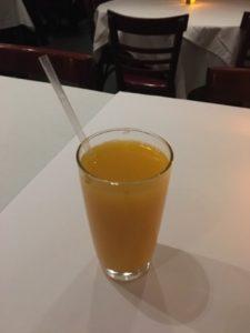suco de laranja de verdade em nova york