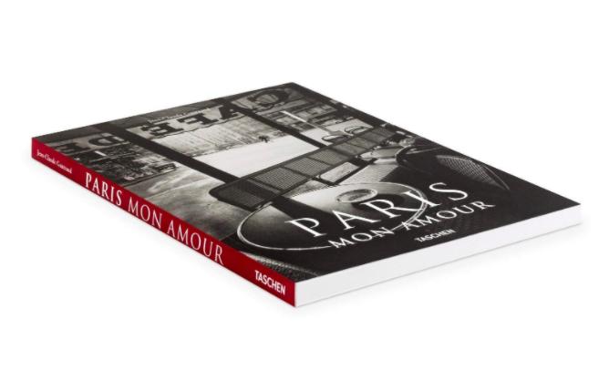 livro da editora taschen sobre paris fotos preto e branco livros de viagem